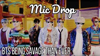 BTS Being Savage Than Ever #1| BTS Disses BTS Like No One Else