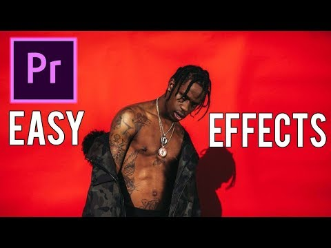 Music Video Effects Tutorial (Fast, Easy, Simple) | Adobe Premiere