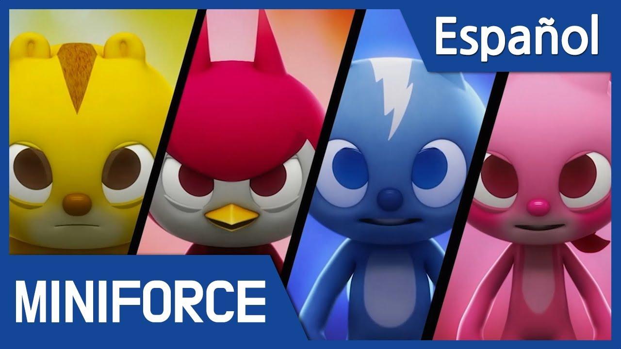 Español Latino Miniforce Capítulo 1 Héroes Nuevos