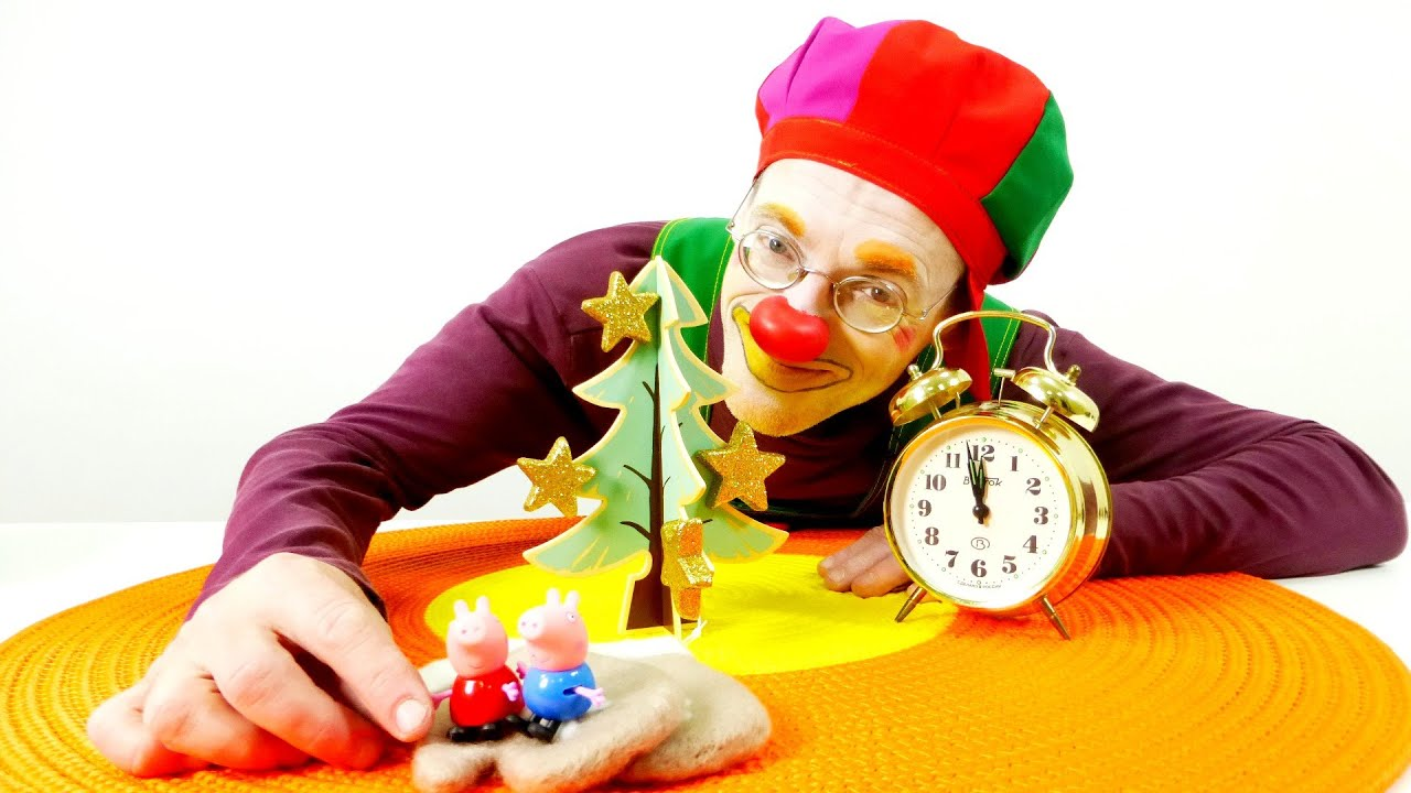 Kids Videos With Toys And A Clown Christmas For Kids