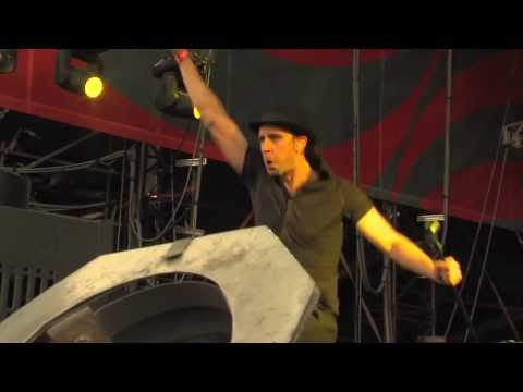 Maximo Park Live - By The Monument @ Sziget 2012