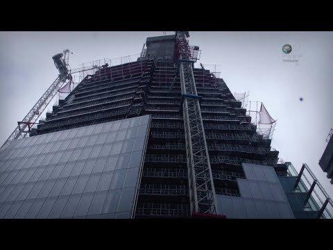 Ультра современный небоскрёб. Инженерия невозможного.