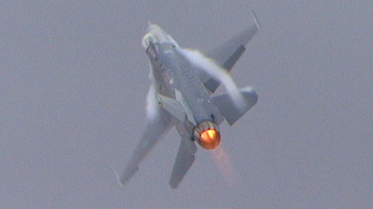 AGGRESSIVE F-16 DEMO !!!