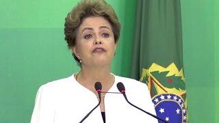 Regierung in Brasilien geplatzt - Rousseff vor dem Aus