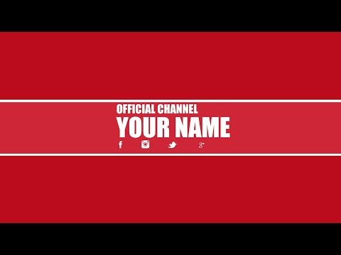 Free Youtube Banner Template PSD │New 2014 ツ│ + Direct Download