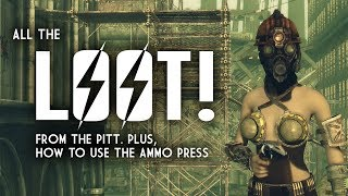 The Pitt 8: All the Loot! Plus, How Best to Use the Ammo Press - Fallout 3 Lore