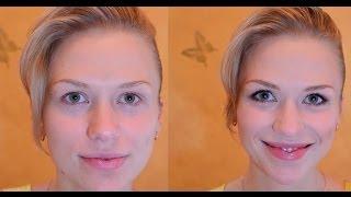 Дневной макияж для зеленых глаз - обучающее видео