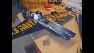How to assemble the Exceed RC F-18 edf jet w/ retracts (kit): Part 3
