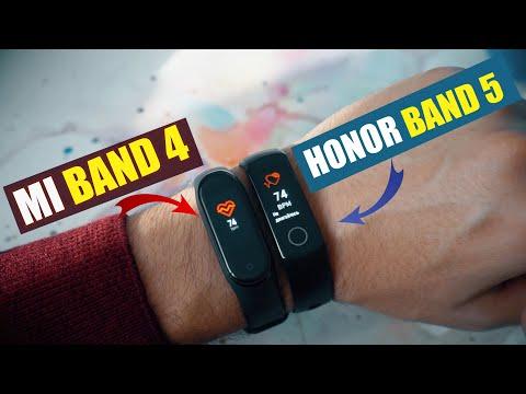 ЧТО ЛУЧШЕ? Mi Band 4 или Honor Band 5