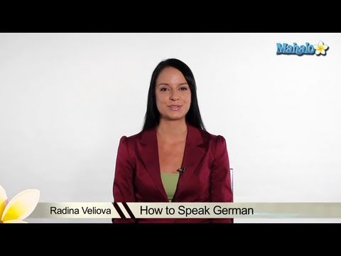 How to Speak German Welcome Video