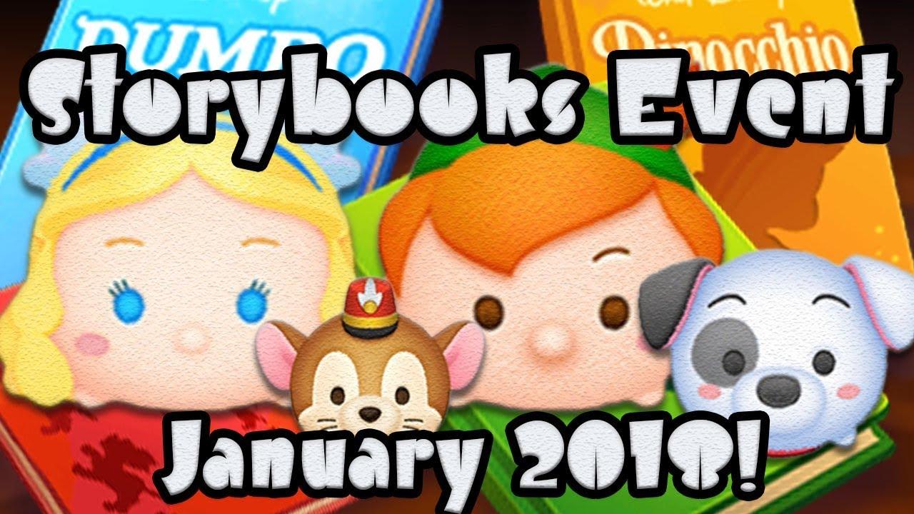 Tsum Tsum 2019 January Event Calendar Line Disney Tsum Tsum   January 2018 Event Update!   YouTube