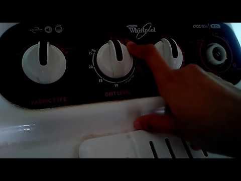 How to use semi automatic washing machine / how to use whirlpool washing machine