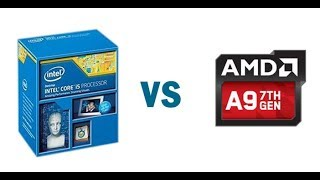 AMD A9 9400 VS INTEL i5 4950 PROCESADOR CPU