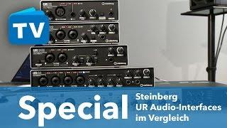 Special: Die Steinberg Audio-Interfaces der UR Serie im Vergleich
