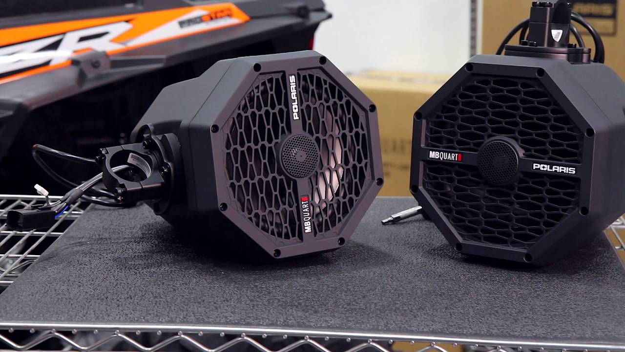 videos: how to install extreme audio pods, sound bars and bluetooth®  remotes | polaris rzr