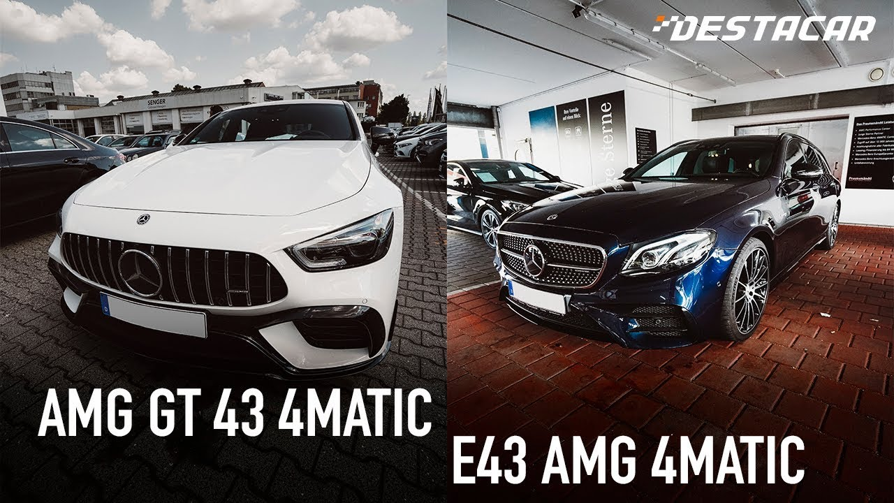 Mercedes AMG /// Смотрим E43 и AMG GT 43