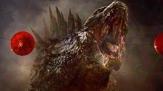 Godzilla vs MUTO - ROAR Scene - Final Battle - Godzilla (2014) Movie Clip HD