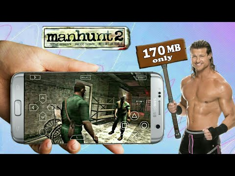 Manhunt 2 Highly Compressed (170mb) Download For Android |Best Rockstar Horror Game |PSP GAMEPLAY|