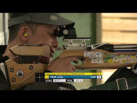 R3 mixed 10m air rifle prone | 2014 IPC Shooting World Championships Suhl