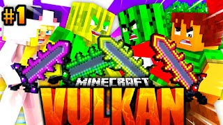 ISY & FLO vs. TOBBSS & JULIAN?! - Minecraft VULKAN #01 [Deutsch/HD]