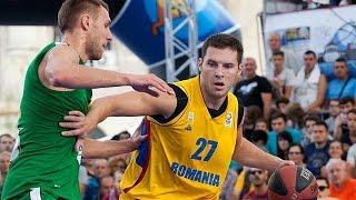 Romania v Lithuania - Semi-Final Full Game - 2014 FIBA 3x3 European Championships