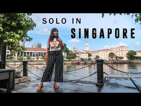SINGAPORE VLOG ✨ Indian Girl Traveling Solo in Singapore   Kritika Goel