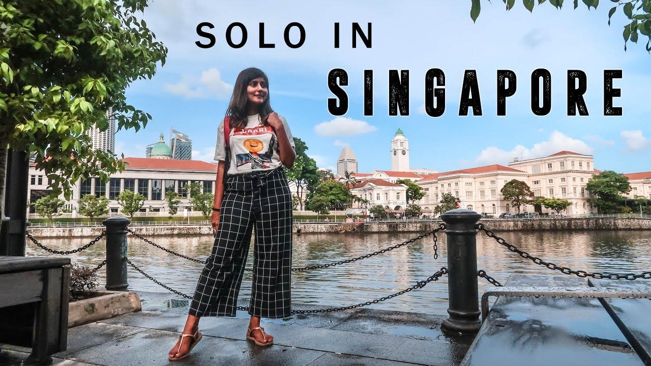 SINGAPORE VLOG - Indian Girl Traveling Solo in Singapore | Kritika Goel