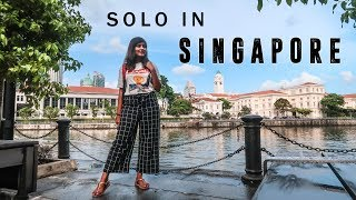SINGAPORE VLOG ✨ Indian Girl Traveling Solo in Singapore | Kritika Goel
