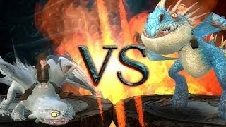 How To Train Your Dragon: Light Fuy VS Astrid Boss Battle