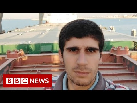 Syrian sailor stranded on abandoned cargo ship off Egyptian coast - BBC News