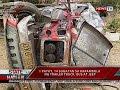 SONA 1 patay, 14 sugatan sa karambola ng trailer truck, bus at jeep