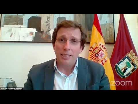 Resumen de la intervención del Alcalde de Madrid en la XVII AGS, 29 6 2020
