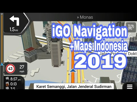 [How To] IGO GPS Navigation Android + Maps Indonesia 2019