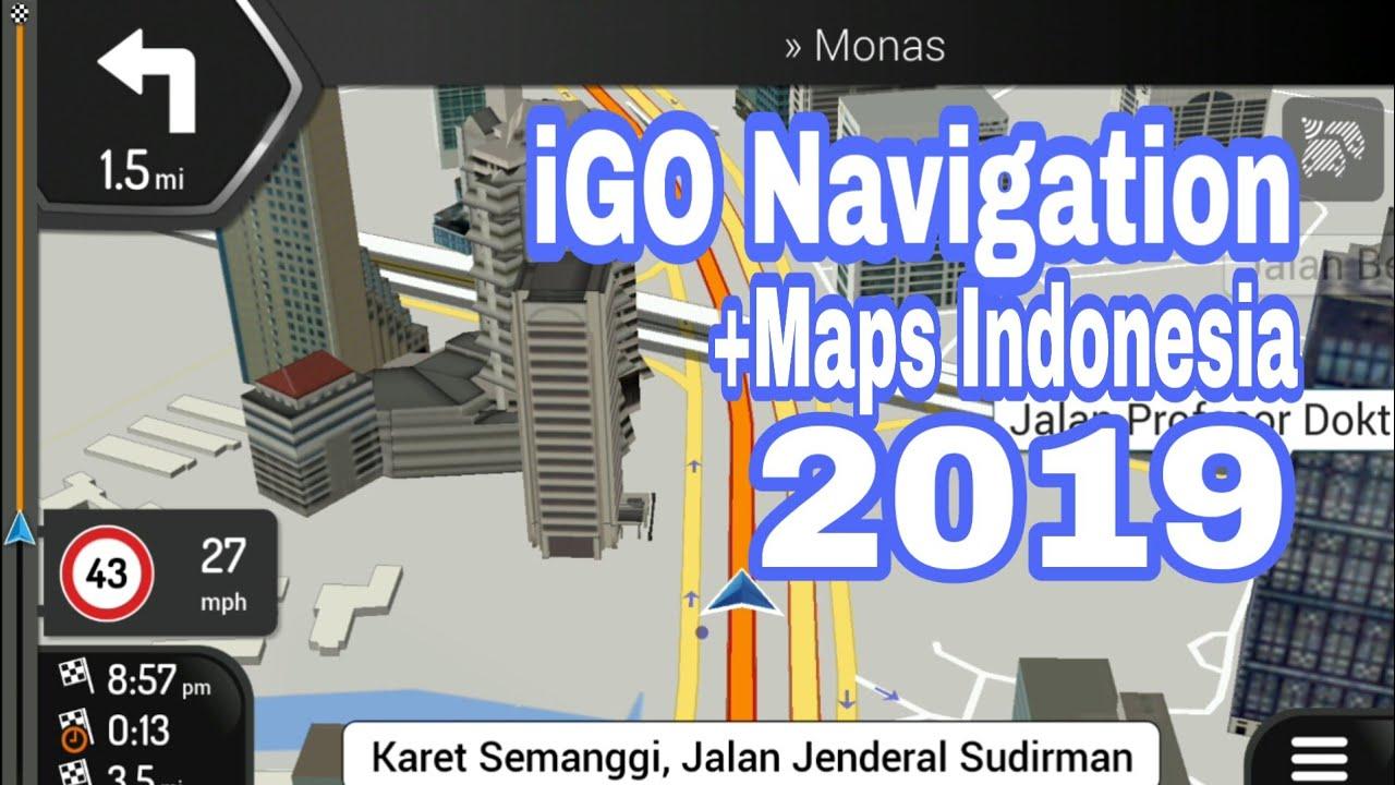[How To] iGO GPS Navigation Android + Maps Indonesia 2019