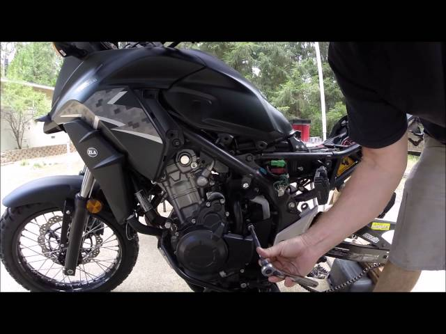 Rally Raid Honda CB500X Adventure Motorcycle — Motorcycle Podcast