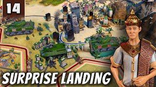 Civilization 6 Gathering Storm - Surprise Landing - Part 14