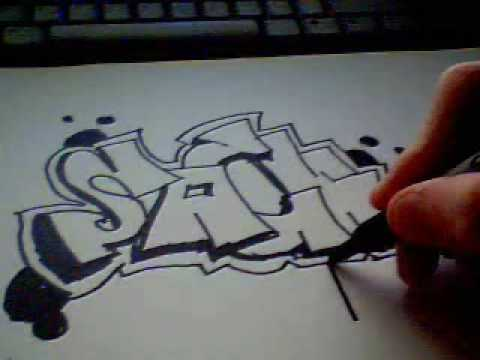 Simple and easy to learn graffiti 2 youtube - Graffiti simple ...
