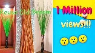 Reuse Old Broom|Broom Craft|Best Out Of Waste
