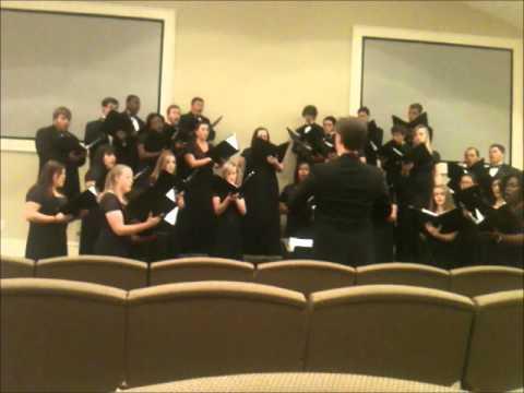 Faulkner University Chorus Part 1