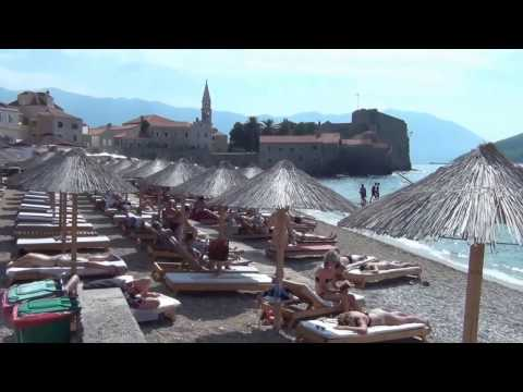 Budva summer Montenegro - 2016 - Hd video