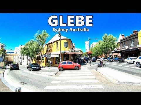 GLEBE - Sydney Australia Walking Tour | Glebe Point Road, GLEBE NSW Australia