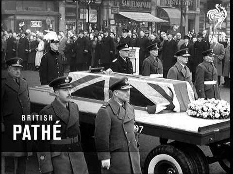 Lord Trenchard Laid To Rest (1956)