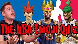 Impossible guess that nba player by emoji quiz!