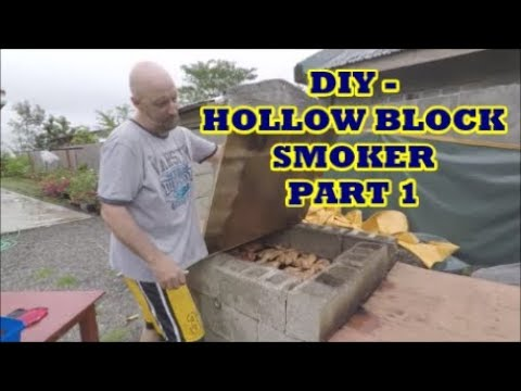 DIY – Hollow Block Smoker! – This is Our Philippines