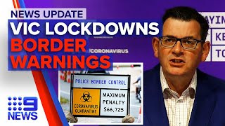 Update: VIC hotspots sent into lockdown, state premiers take action against VIC