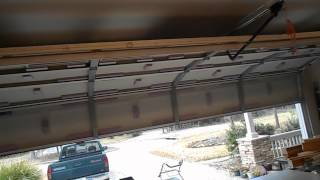 Diy Insulating A Garage Door