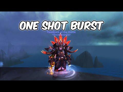 ONE SHOT BURST - Enhancement Shaman PvP - WoW Shadowlands 9.0.2