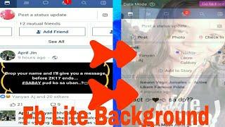 Video How to change facebook Lite background download MP3, 3GP, MP4, WEBM, AVI, FLV Agustus 2018