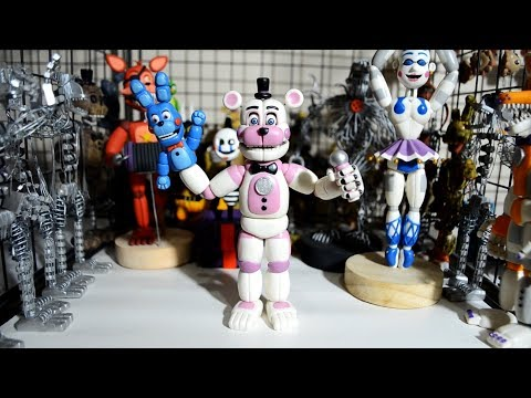 MY BIGGEST CLAY FIGURE COLLECTION... (THEY LEVITATE!) ★ FNAF TJOC:R BENDY CUPHEAD HANDMADE FIGURES