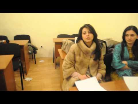 Azerbaijan University. MBA.Project Management Course.Teacher Elchin Sardarov .